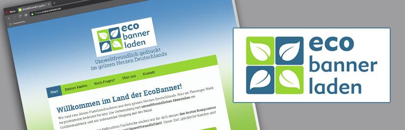 EcoBannerLaden - Umweltfreundlicher Banner