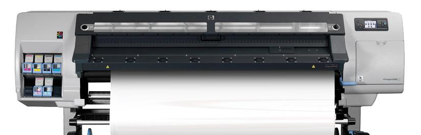 Unser Großformatdrucker mit Latextinten
