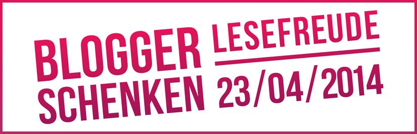 Logo: Blogger schenken Lesefreude