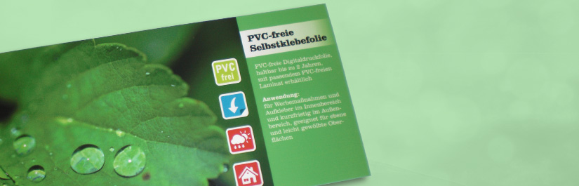 PVC-freie Selbstklebefolie