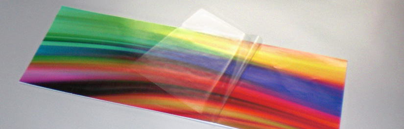 Schutzlaminat für Digitaldruckfolien
